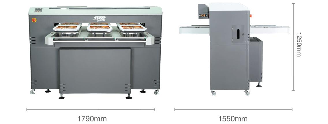 M6 printer dimensions