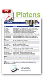 DTG Platen Brochure