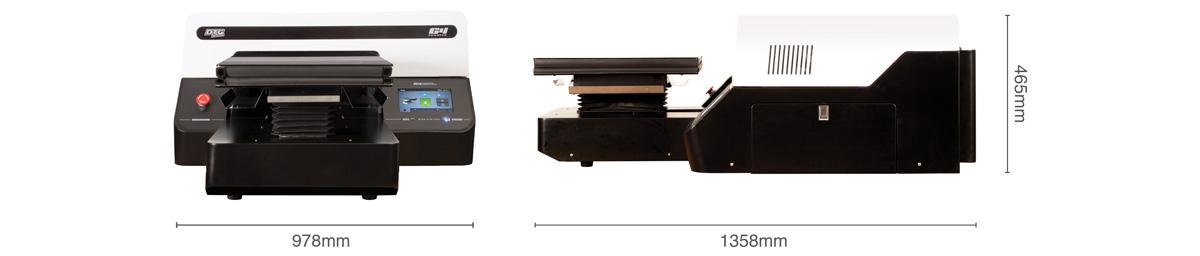 M2 printer dimensions